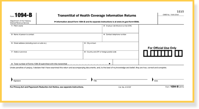 An Introduction to the IRS Aca Reporting Forms for Employer